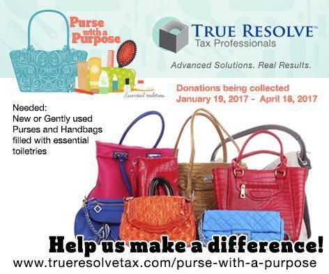 Purse with a purpose image